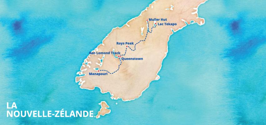 idées de randonnées en nouvelle zélande