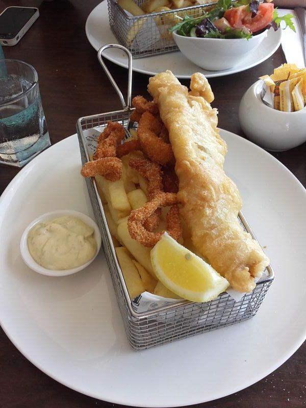 Le fish&chips est un plat très prisé en Australie