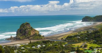Piha beach nouvelle zelande