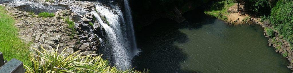 Les cascades de Nouvelle-Zelande