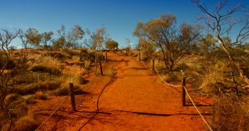 Bright and Sunny Day in the Australian Outback