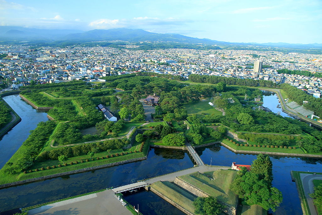 la forteresse Goryokaku a Hakodate