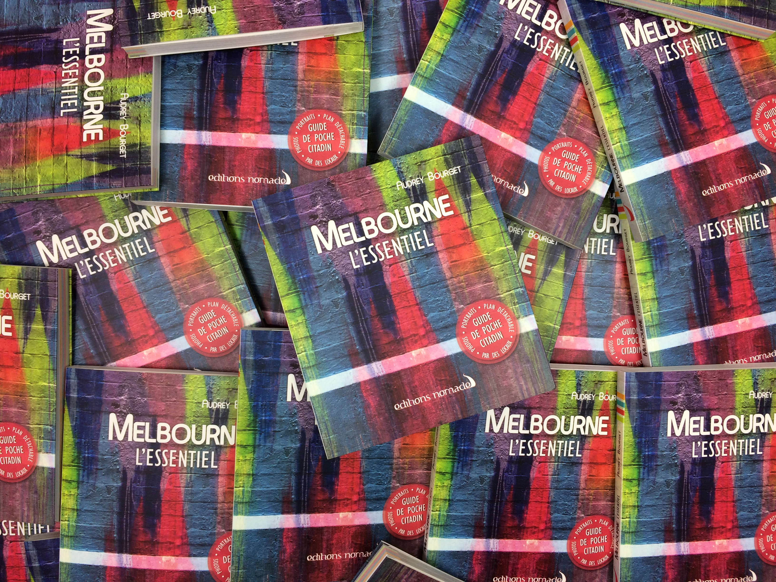 Sortie du guide Melbourne l'essentiel par Chapka et les Éditions Nomades