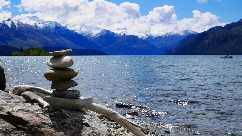Randonnée sur le lac Wanaka