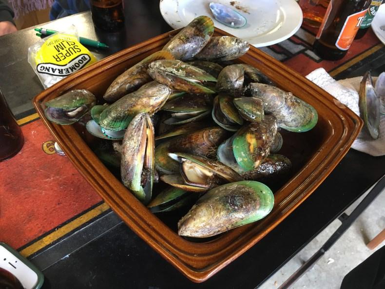 manger des moules en nouvelle zelande