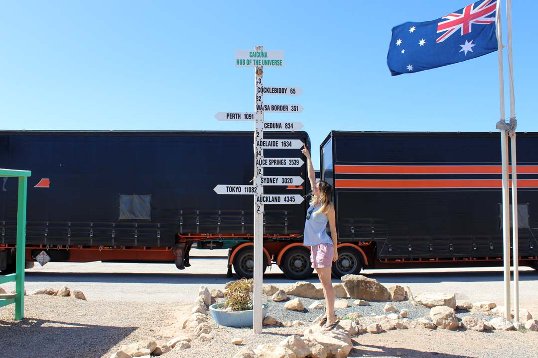 stephanie a fait un road trip en australie occidentale