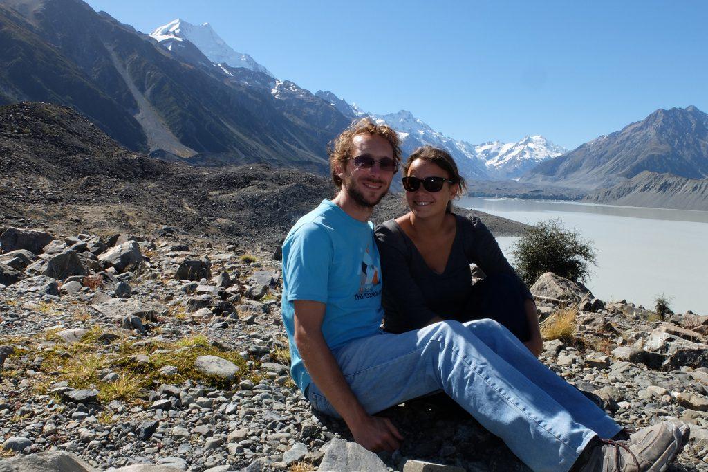 Une randonnée en Nouvelle-Zélande dans la Tasman Valley