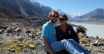randonnee en Nouvelle Zelande dans la Tasman Valley