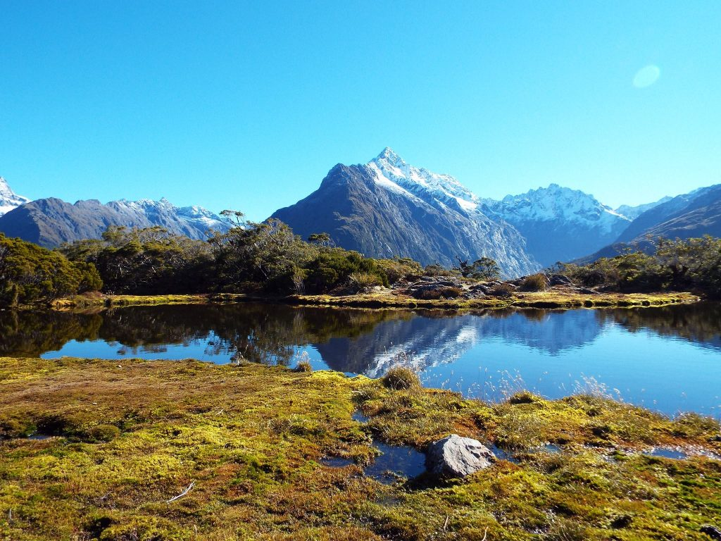 Key Summit dans le Parc national de Fiordland