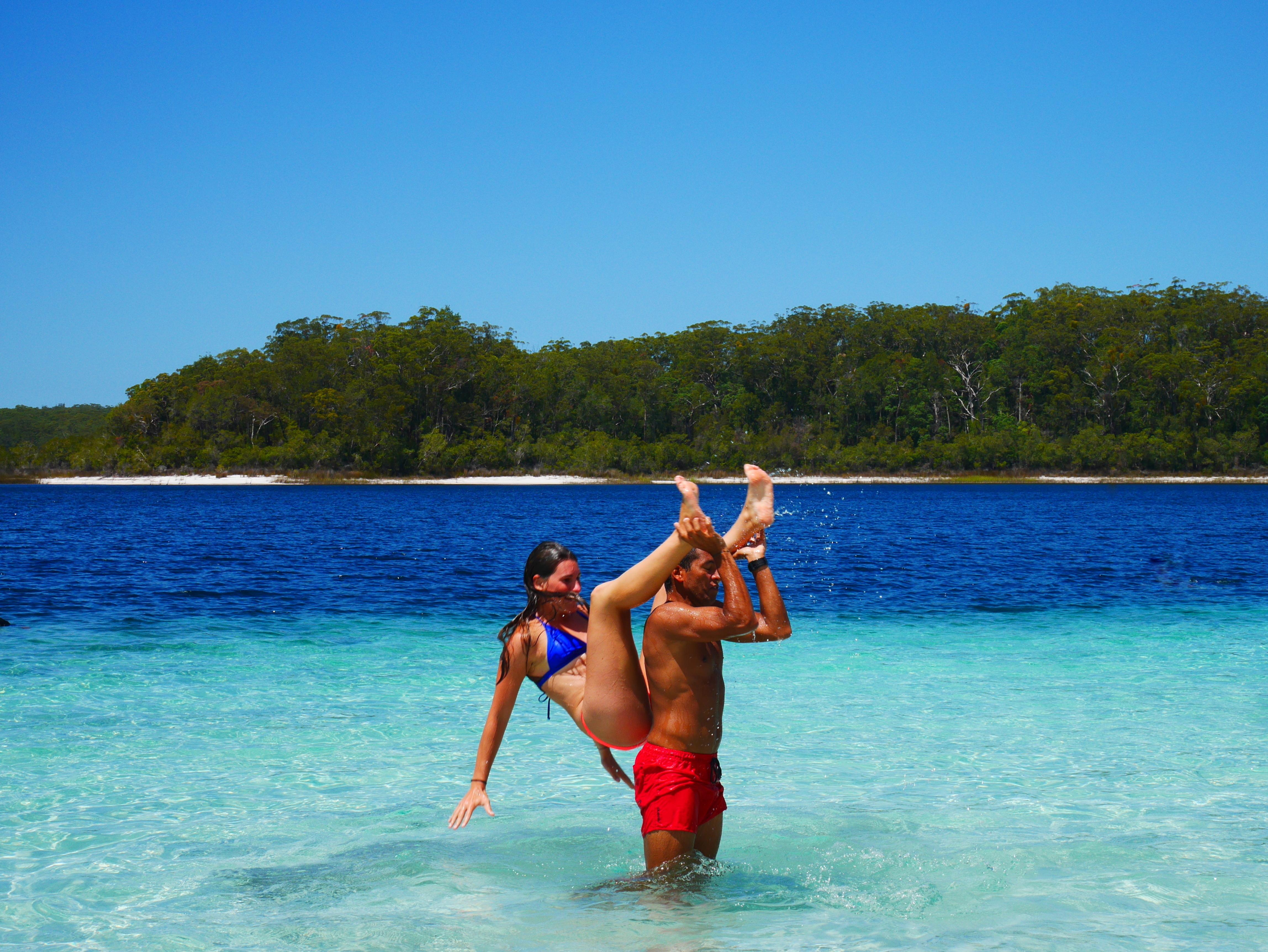 Des treks, de la plongée et du surf : le PVT sportif de Lucile et Max