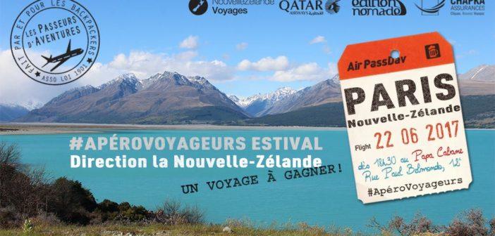 Un apéro voyageurs spécial NZ jeudi 22 juin à Paris