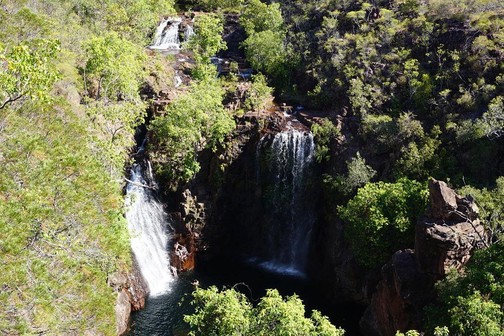 les chutes d'eau de Florence Falls dans le Litchfield National Park