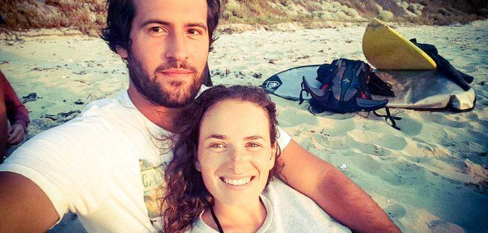 Des vendanges, du surf et du snorkeling : le PVT de Marine et Guillaume