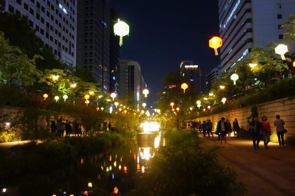vie nocturne a Seoul