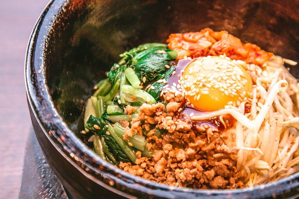 le bibimbap un plat typique coreen
