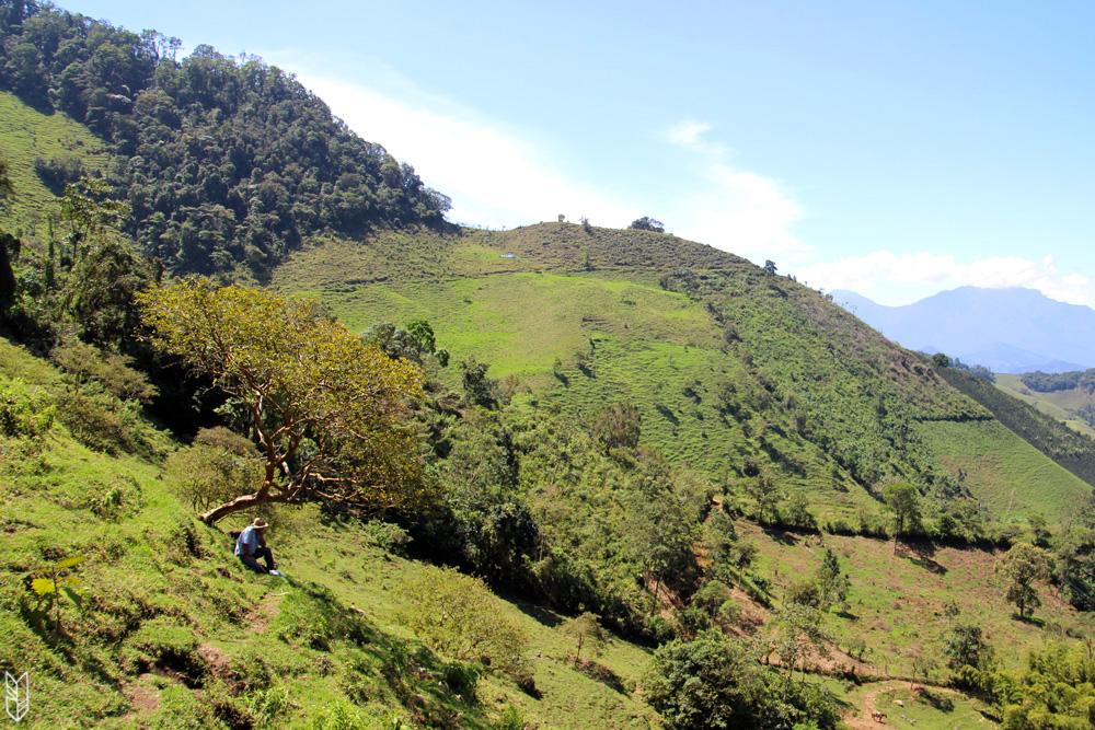 le village de Jardin en Colombie
