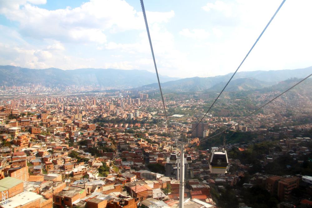 le funiculaire de Medellin