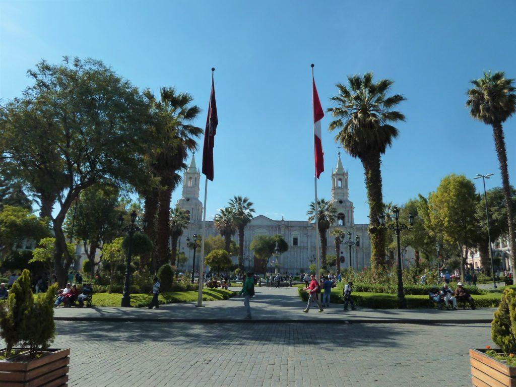 la ville d'Arequipa au Chili