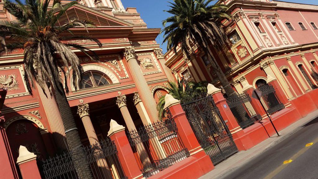 le quartier de Barrio Brazil à Santiago du Chili