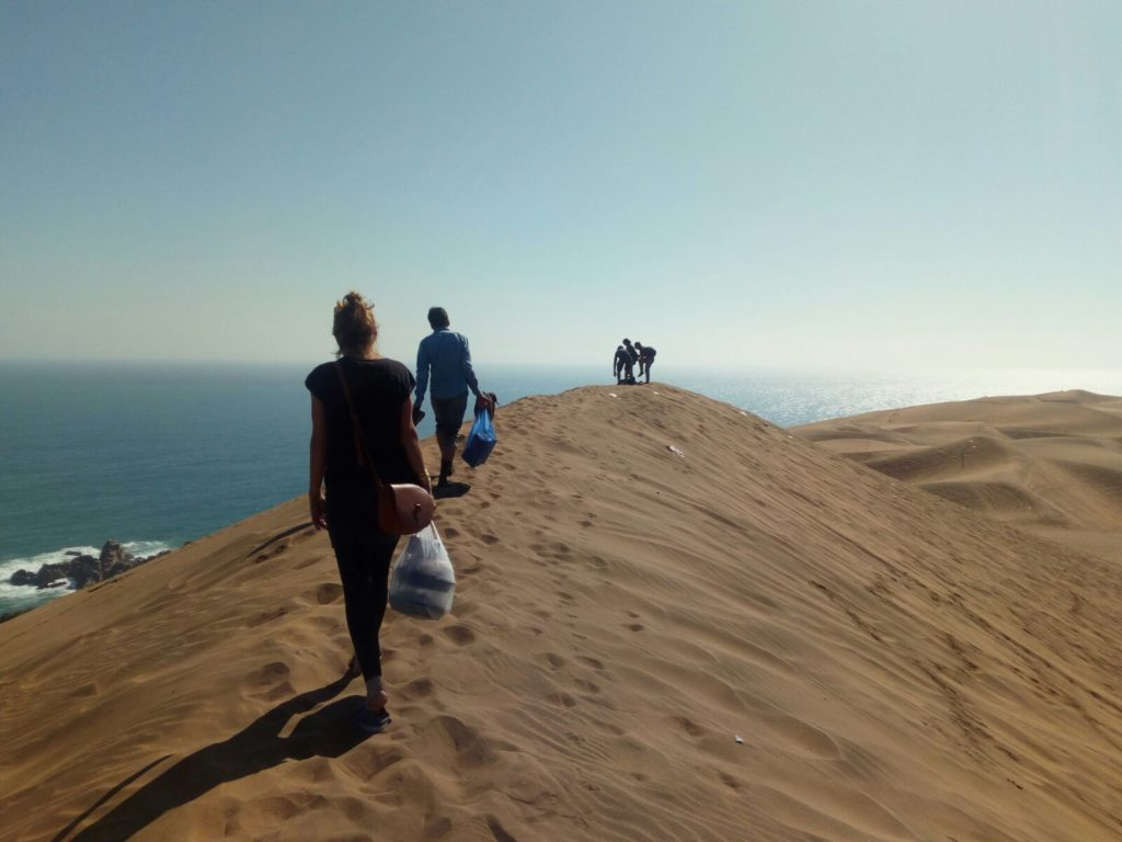 Les dunes de Concon au Chili