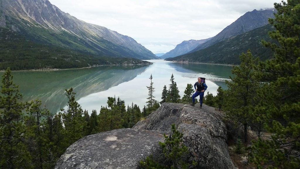 randonnée à Chilkoot au Canada