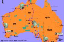 faire le tour de l'Australie en van