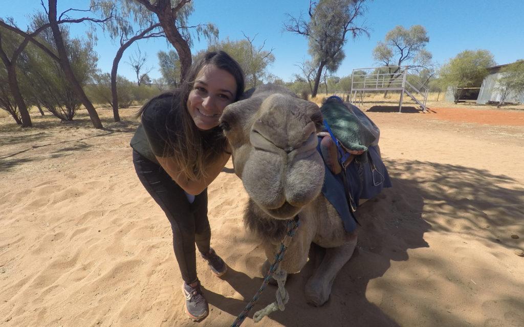 wwoofing en australie avec les chameaux