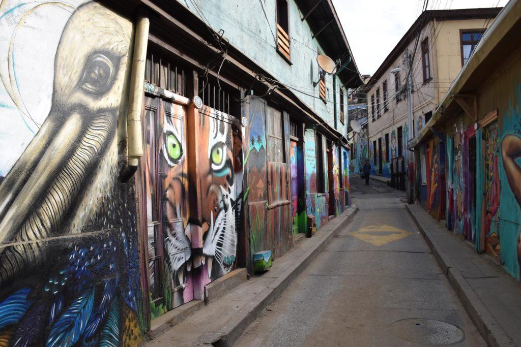 visiter Valparaiso au Chili