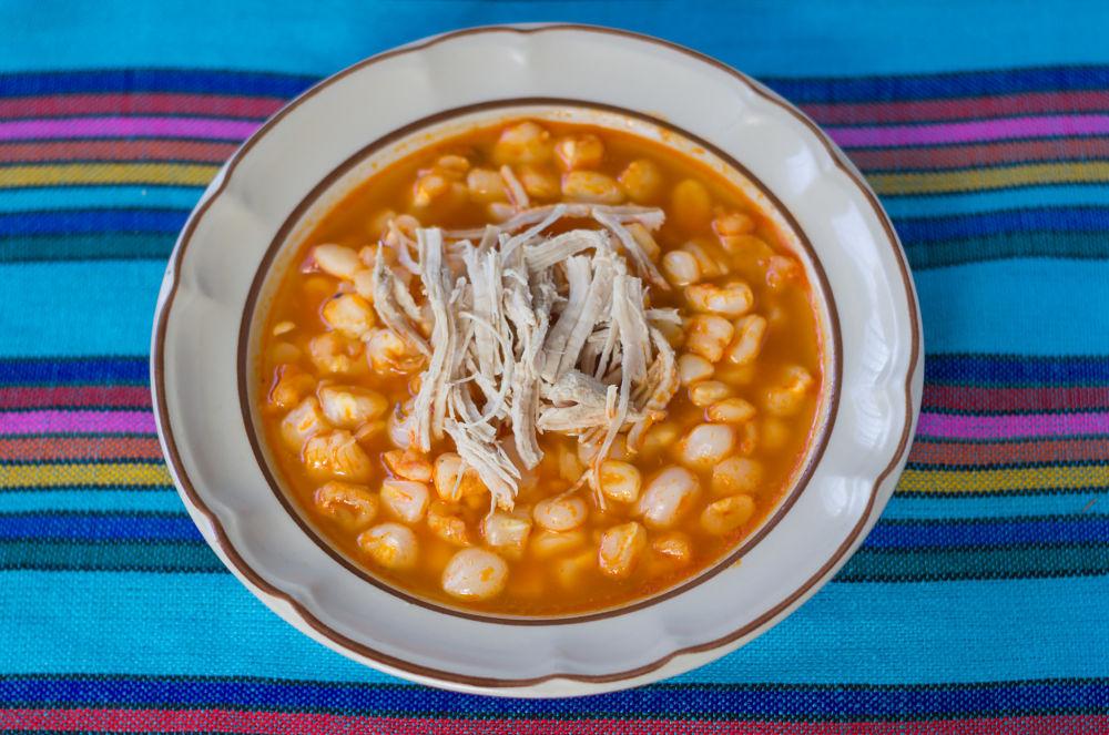 le pozole une soupe traditionnelle au Mexique
