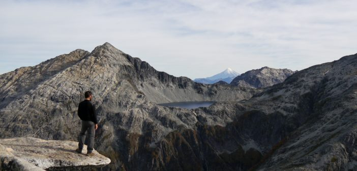 Chili : randonnée sur la pointe du Cerro Arcoiris