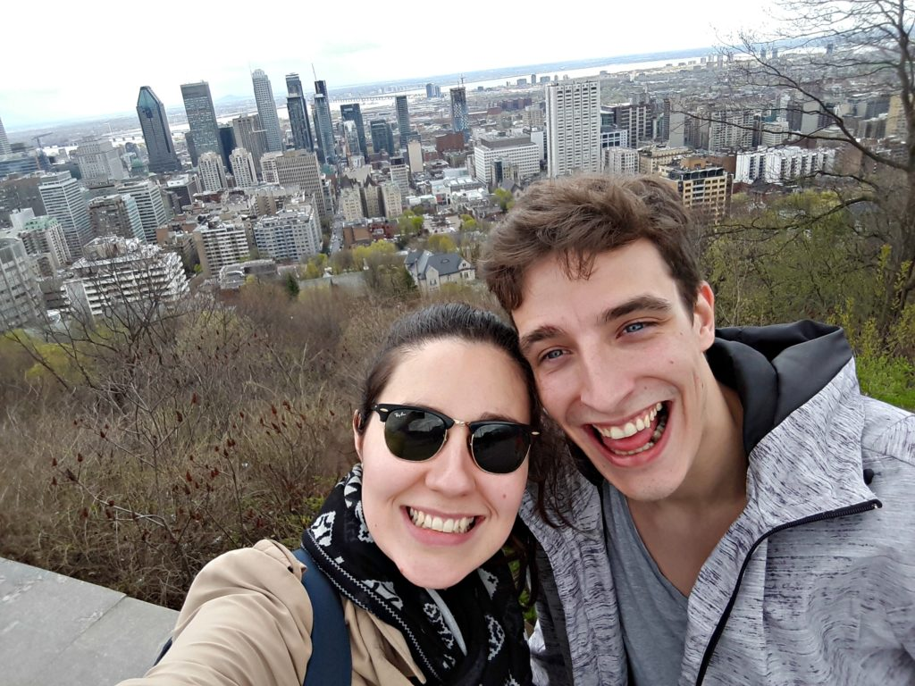 Pauline, partie vivre à Montreal avec un PVT