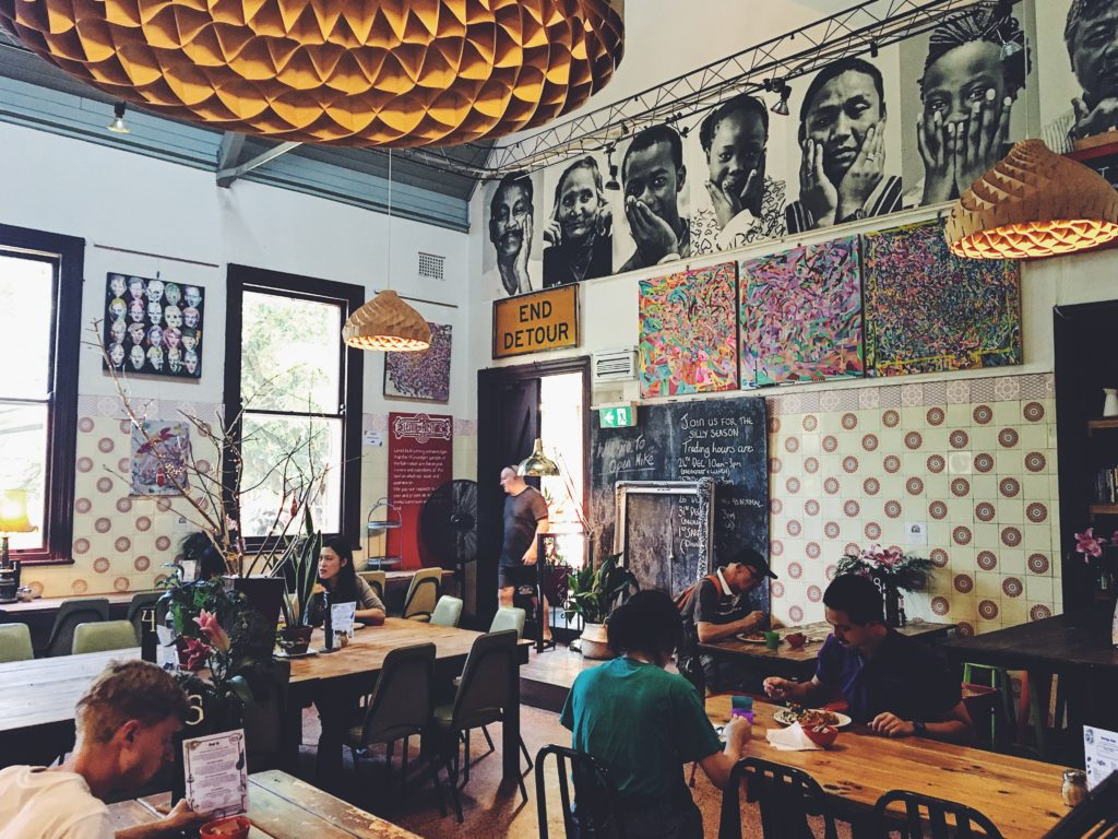 restaurant participatif Lentil As Anything a Melbourne