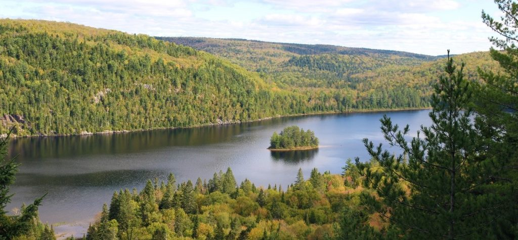 weekend dans le parc national de la Mauricie