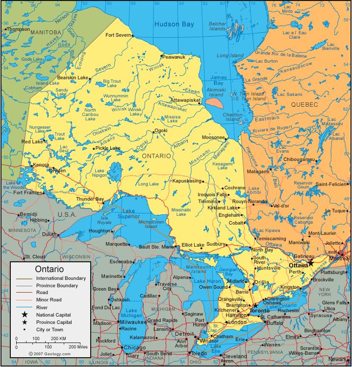 province de l'Ontario