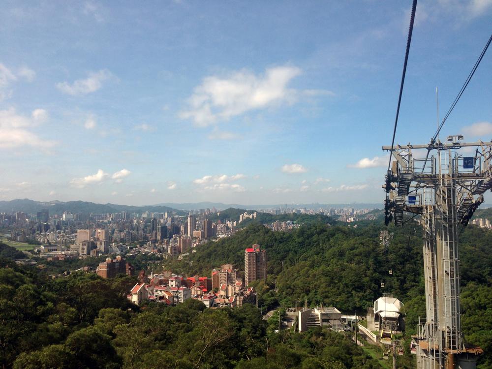 vue sur Taipei la capitale de Taiwan