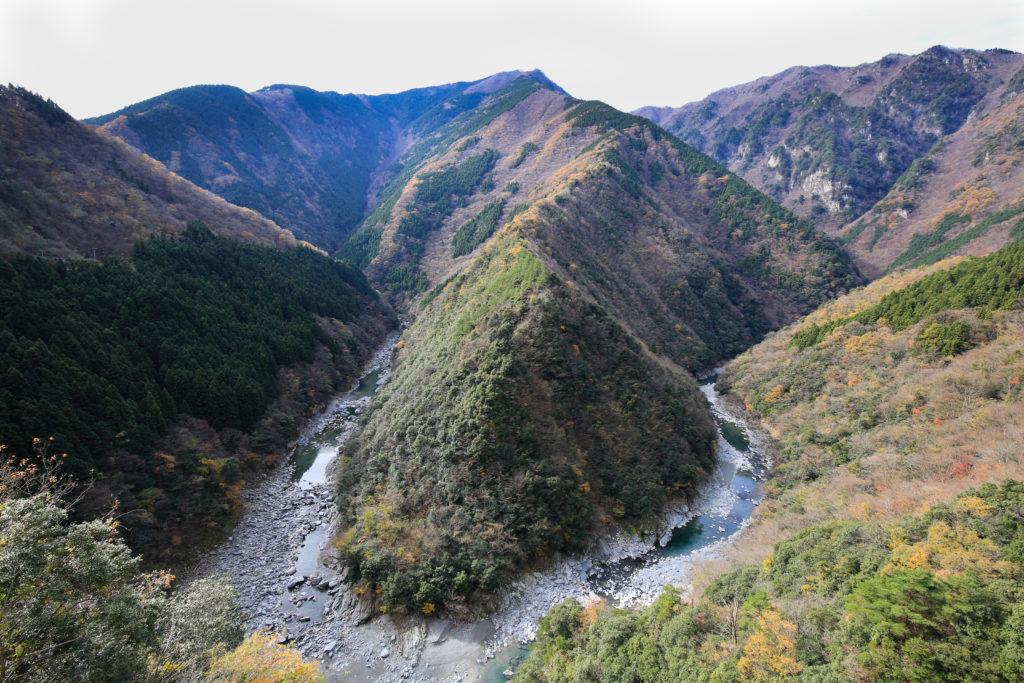 La vallée de l'Iya au Japon