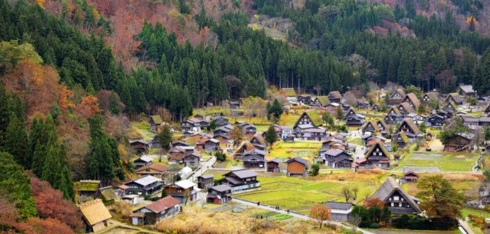 La découverte de la campagne japonaise