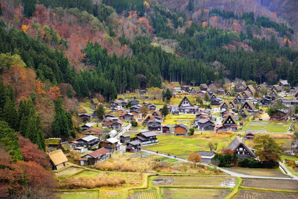 que visiter dans la campagne japonaise ?