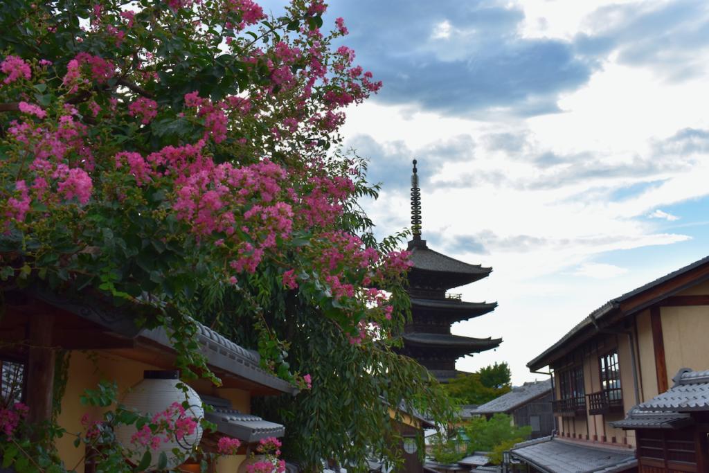 voyage à Kyoto au japon